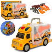 Автобус с набором игрушечных инструментов Bushnell со световыми и звуковыми эффектами (TB-661-174-1)