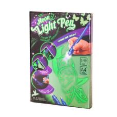 Набор творческий Danko Toys Neon Light Pen для рисования ультрафиолетом