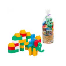 Конструктор Зоо- Блок №2 Colorplast содержит 35 пластиковых деталей