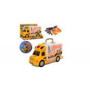 Автобус  с набором игрушечных инструментов  со световыми и звуковыми эффектами 661-174-1