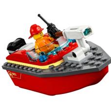 Конструктор 11212  Пожарный катер 109 деталей