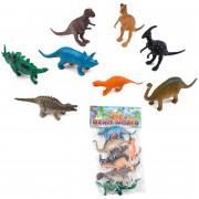 Набор динозавров Wild Dino World 8 фигурок