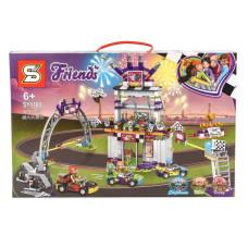 """Конструктор """"Friends"""" гонка на стадионе"""